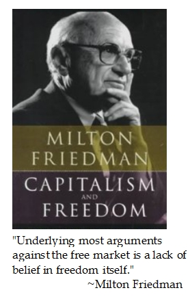 MILTON FRIEDMAN CAPITALISM AND FREEDOM